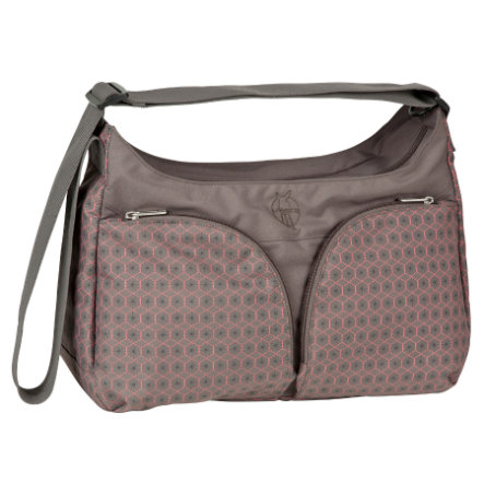 LÄSSIG Nappy Bag Basic Shoulder Bag Comb slate