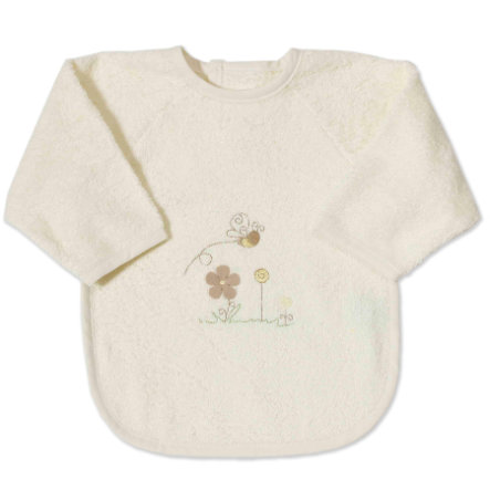 Easy Baby Sleeved Plush Bib - Honey Bear (362-79)