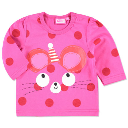 MAX COLLECTION Baby Longsleeve PUNKTE pink