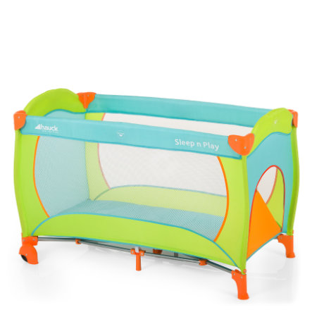 HAUCK Travel Cot Sleep'n Play Go Plus Multicolor Sun Collection 2015