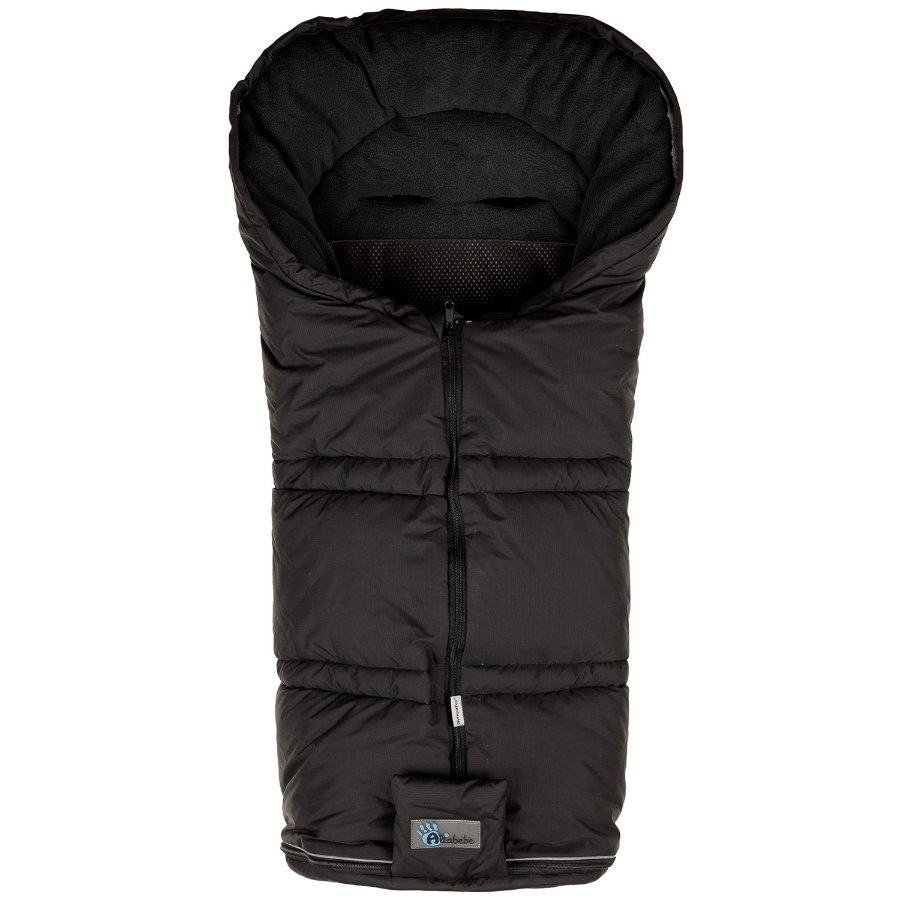 ALTA BÉBE Winter Footmuff Climate Guard (AL2278sx03) SympaTex, black/black - Black Panther 2013/2014 collection