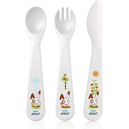 AVENT Cutlery Set 18m+ BPA Free