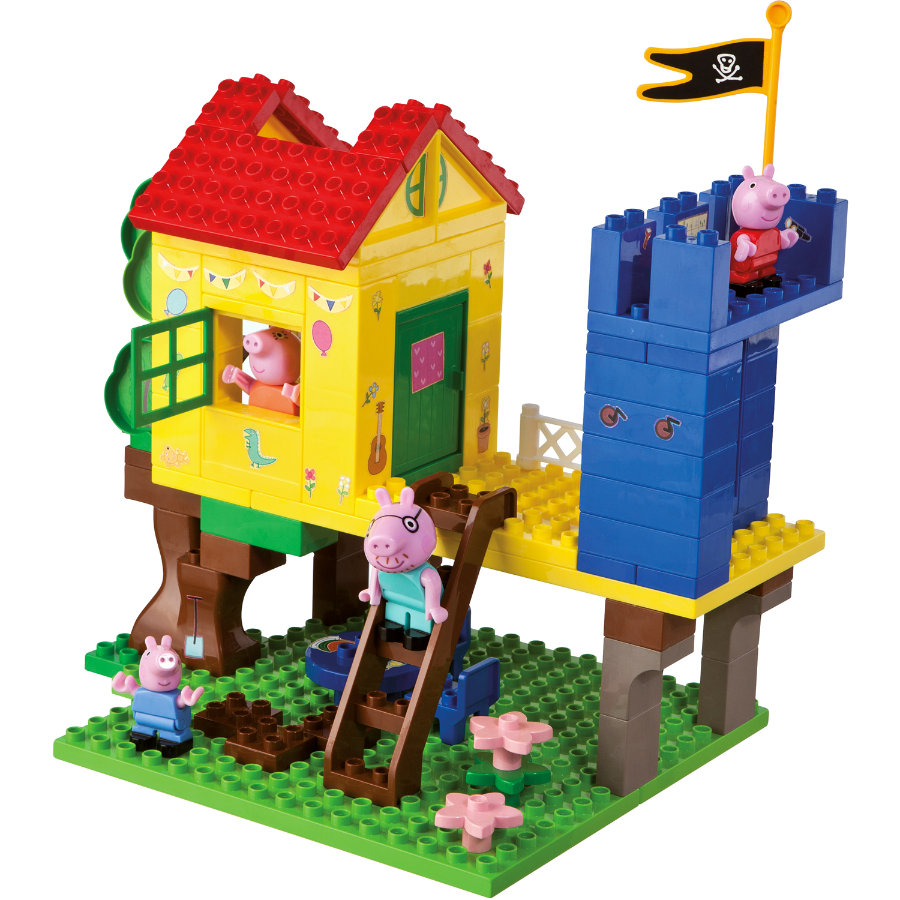 BIG PlayBIG Bloxx Peppa Pig - Baumhaus