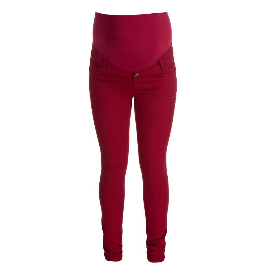 ESPRIT Těhotenské kalhoty red