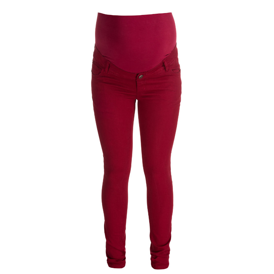 ESPRIT Vente-bukser, rød