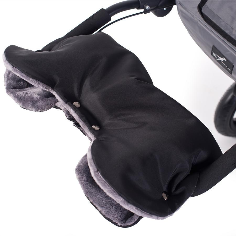 TFK Calentador de manos universal negro-gris
