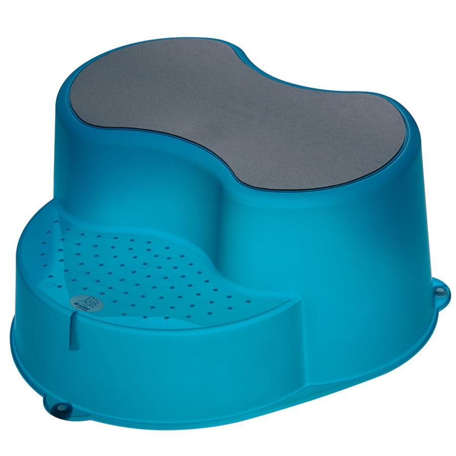 Rotho Babydesign Kinderschemel TOP in translucent blue