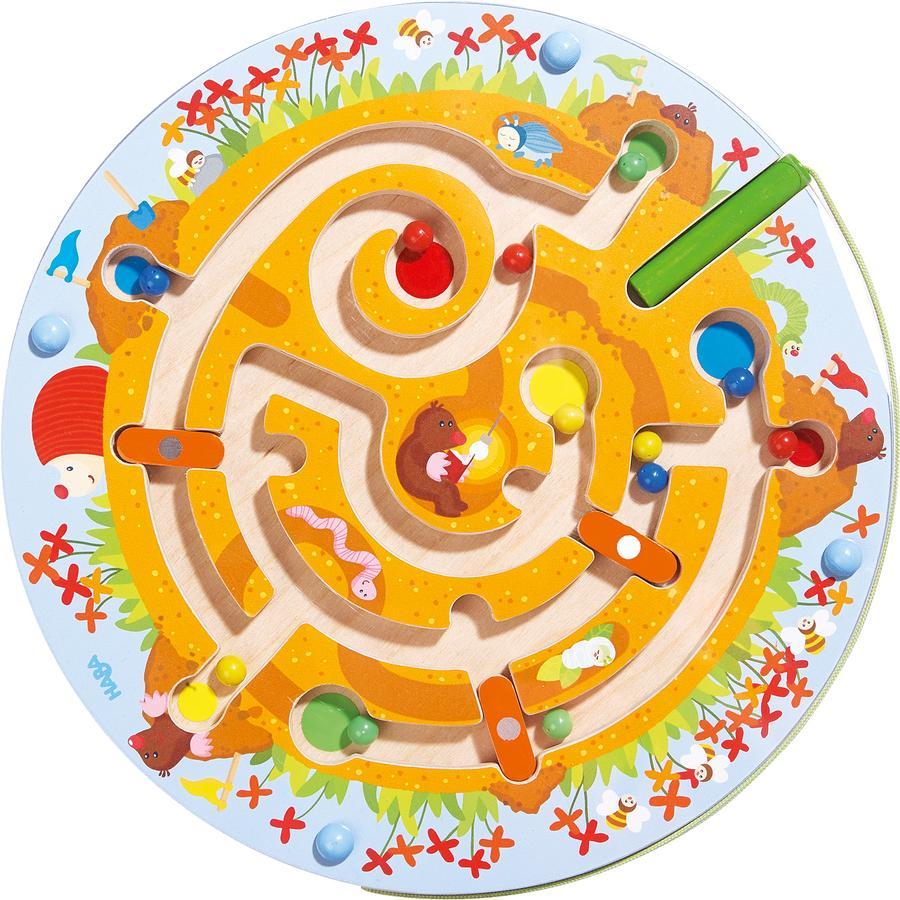 HABA Magnetické hraní, krtčí labyrint 301476