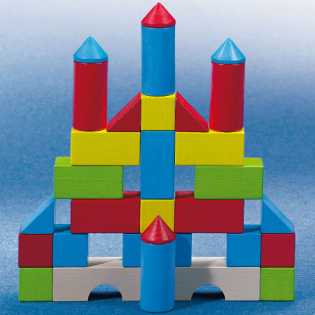 HABA Coloured Building Blocks extra pack