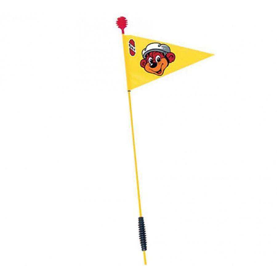PUKY Bandierina di sicurezza SW2 per Tricicli e Go Carts, colore giallo