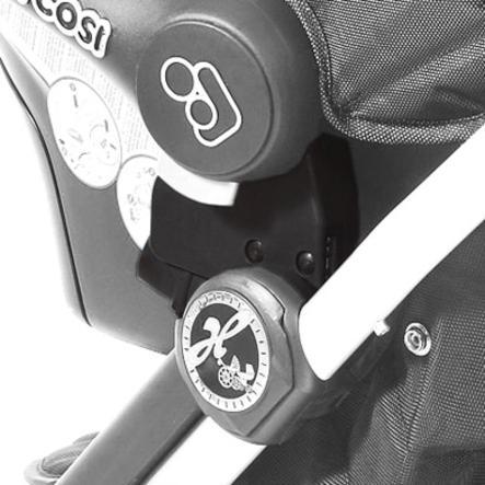 Hartan Adaptateur I-Go Maxi-Cosi Cabriofix, Pebble