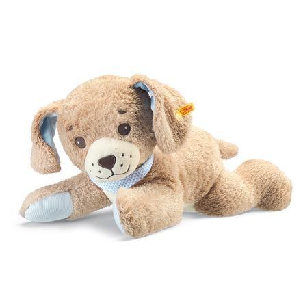 Steiff Slaap lekker Hond 48cm beige, liggend