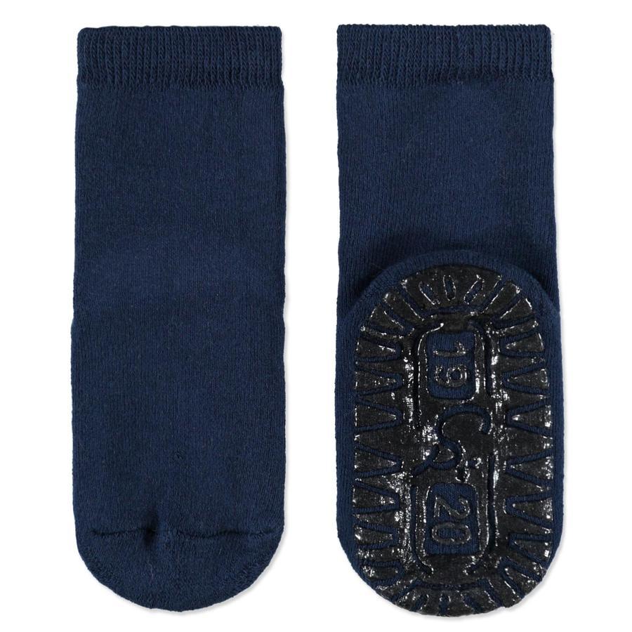 Sterntaler Protiskluzové ponožky Soft tmavě modré
