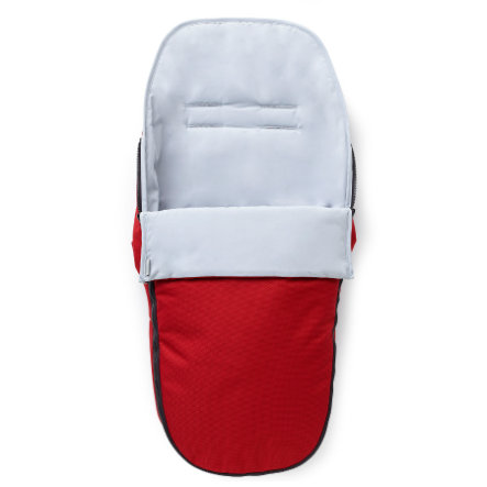 nuna PEPP and PEPP luxx Footmuff  Scarlet Red