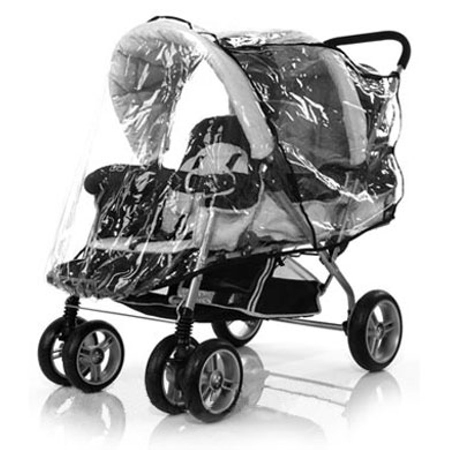 ABC DESIGN Folia przeciwdeszczowa na wózek podwójny (Tandem)