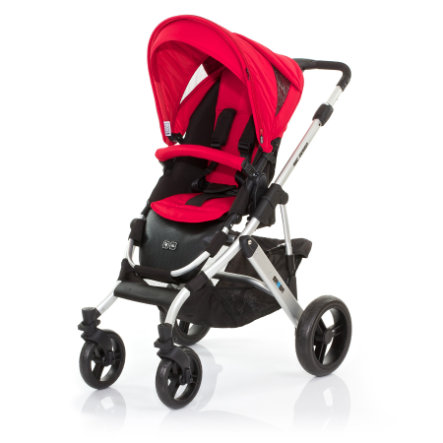 ABC DESIGN Combi Stroller Mamba cranberry Frame silver / black Collection 2015