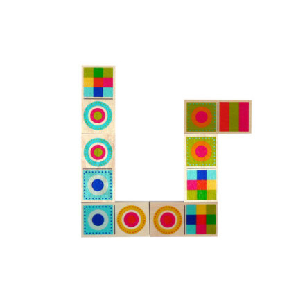 HESS Domino, Colourful Shapes