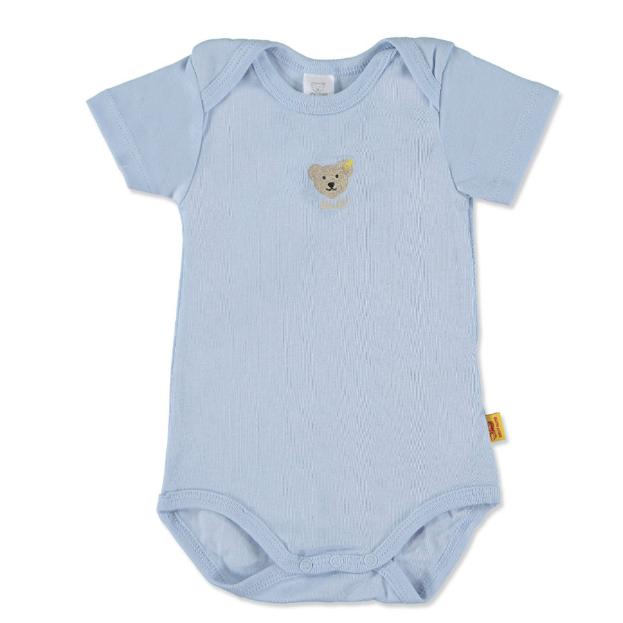 STEIFF Boys Baby Body Manica 1/4 baby blue