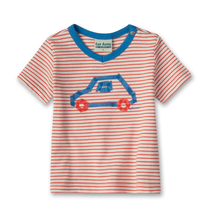 SANETTA Boys Mini Tričko - red/blue