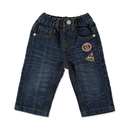 TRICKY TRACKS Boys Mini Kalhoty blue denim