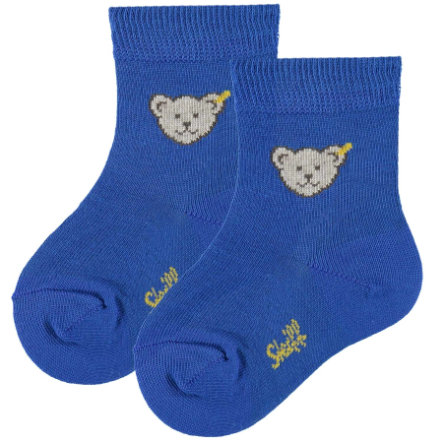 STEIFF Boys Baby Socks Teddy royal blue
