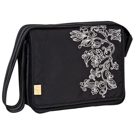 LÄSSIG Sac à langer Casual Messenger Bag Flornament black