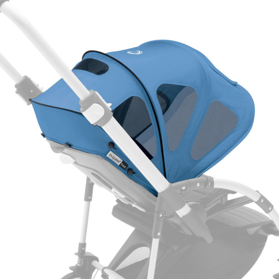 Bugaboo Bee Breezy Sonnendach mit Lüftungsfenstern Ice Blue - Core Collection