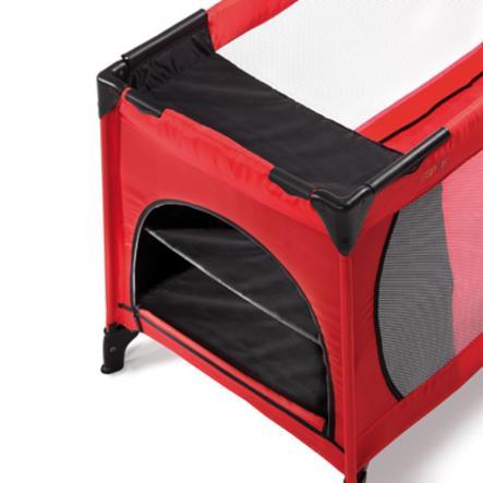HAUCK ESPRIT Faltregal für Reisebett Black 60cm