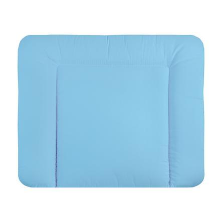 JULIUS ZÖLLNER Wickelauflage - Softy Stoff sugar blue 85 x 75 cm