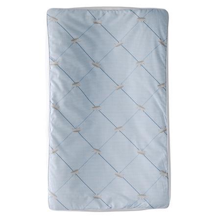 TICAA Rivestimento materassino fasciatoio Azzurro