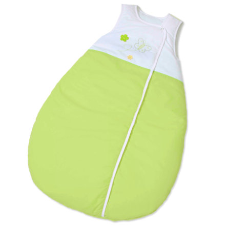 EASY BABY Schlafsack Molton 90 cm Butterfly green (451-88)