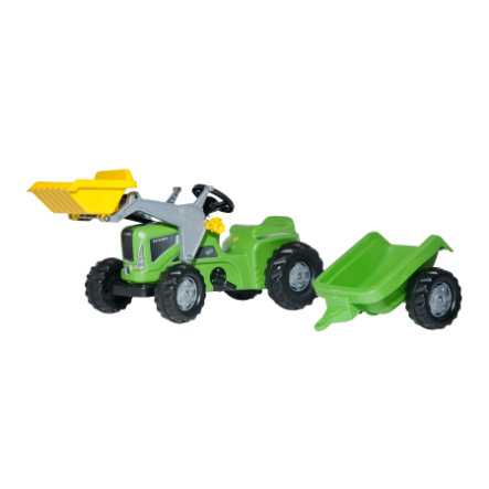 rolly®toys rollyKiddy Futura-Lader + Trailer