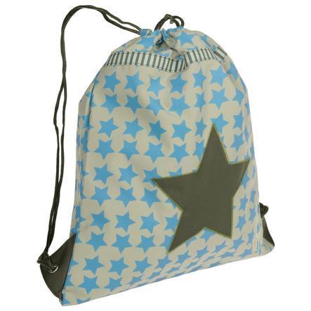 LÄSSIG Turnbeutelmini String Bag Starlight Oliv