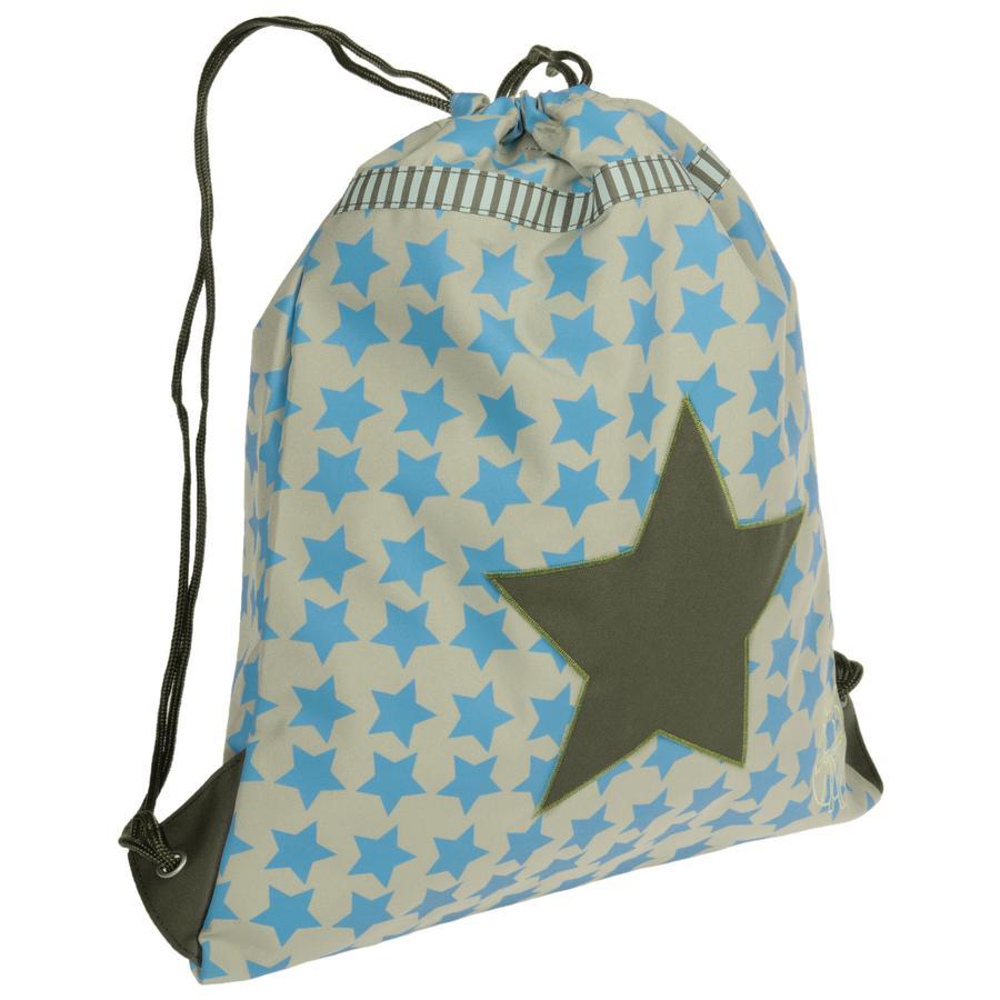 LÄSSIG sportovní vak mini String Bag Starlight Oliv