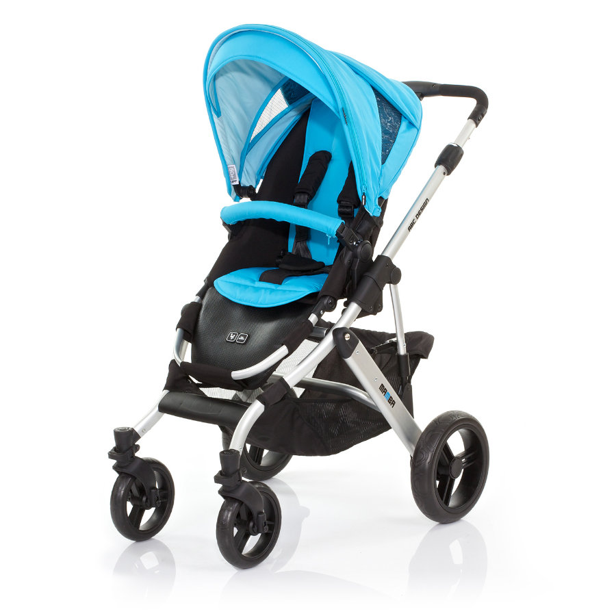 ABC DESIGN Combi Stroller Mamba rio Frame silver / black Collection 2015
