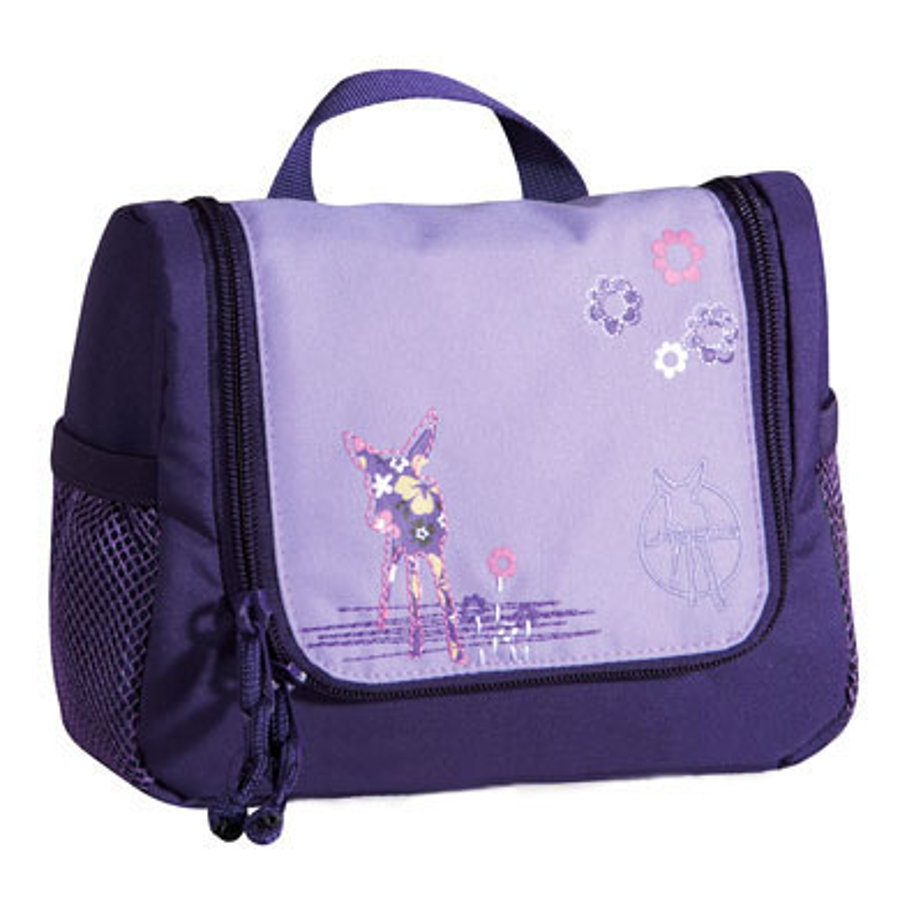 LÄSSIG Mini Wash Bag Toiletries Bag Deer