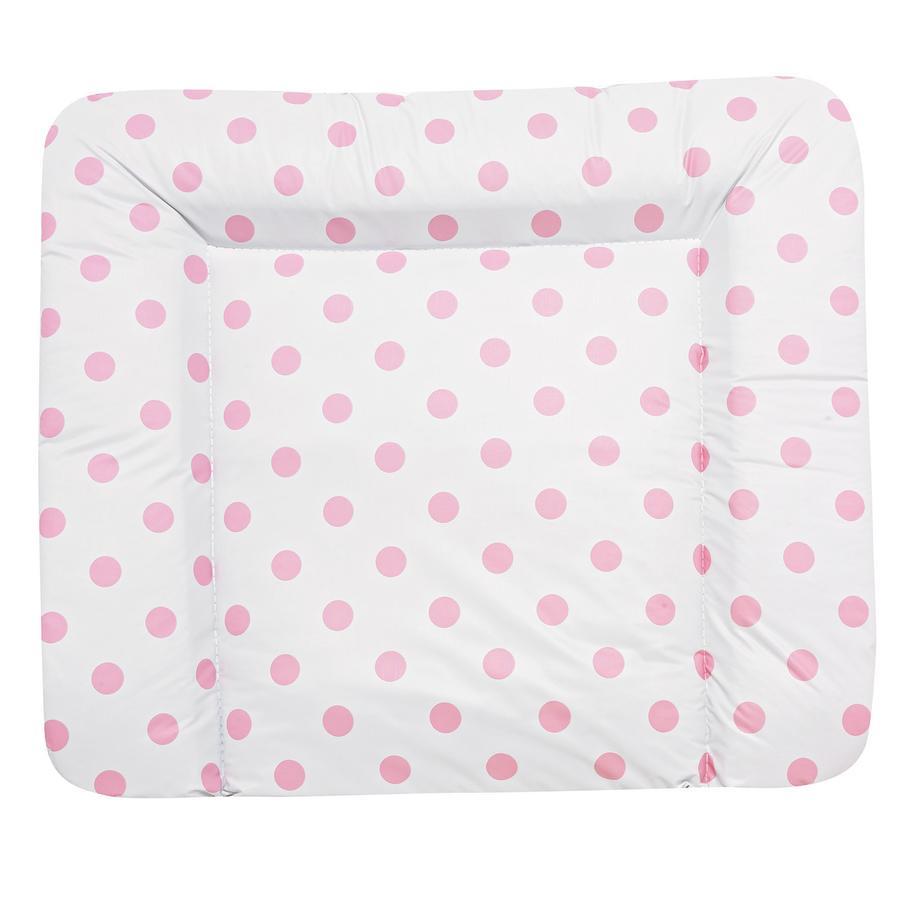 ALVI Wickelauflagen- Folie Molly - Schlafmütze rosa 85 x 75 cm