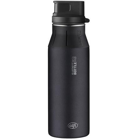 ALFI elementBottle mit Trinkverschluß - Pure schwarz 0,6 l
