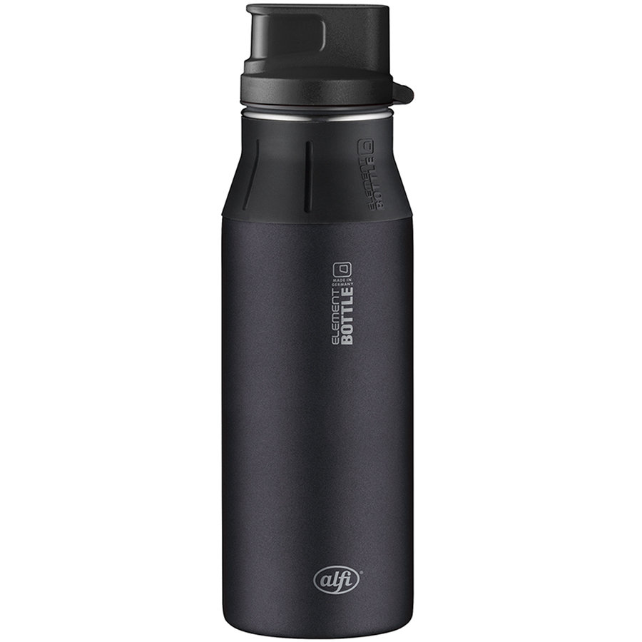 ALFI elementBottle Flaska, Pure svart 0,6 l