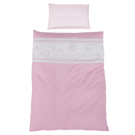 ROBA Juego de sábanas de 2 piezas, Angelito rosa