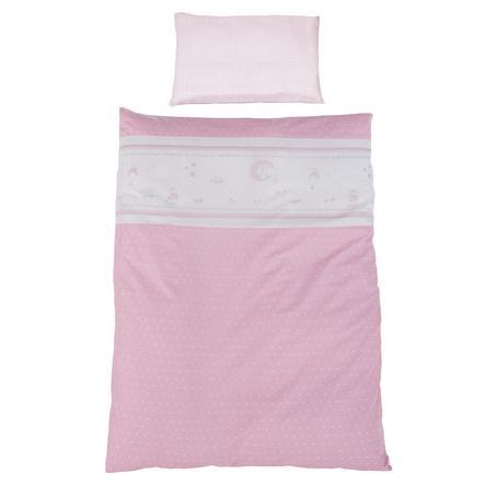 ROBA Parure de lit Ange gardien, 2 pièces, rose, 100 x 135 cm