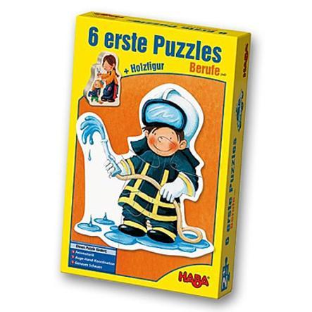 "HABA 6 Primi puzzle ""Lavori"""