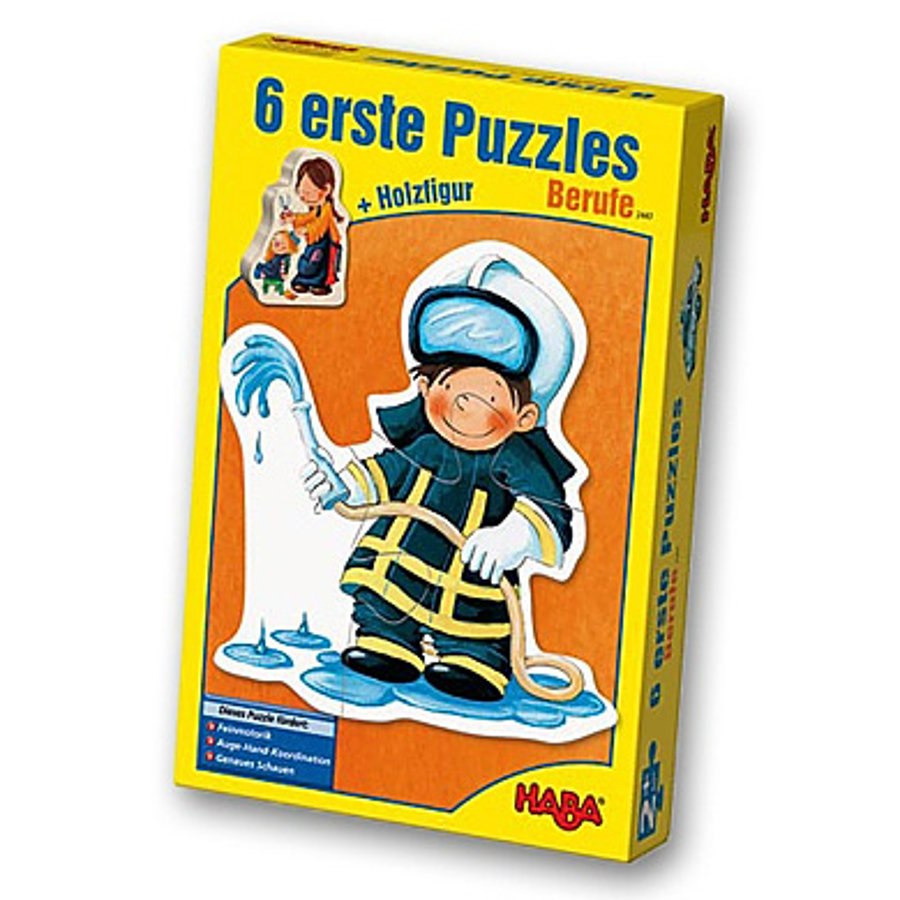 HABA 6 First jigsaws Professions