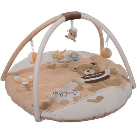 BIECO Alfombra para bebé con arco de actividades Osito Bubu