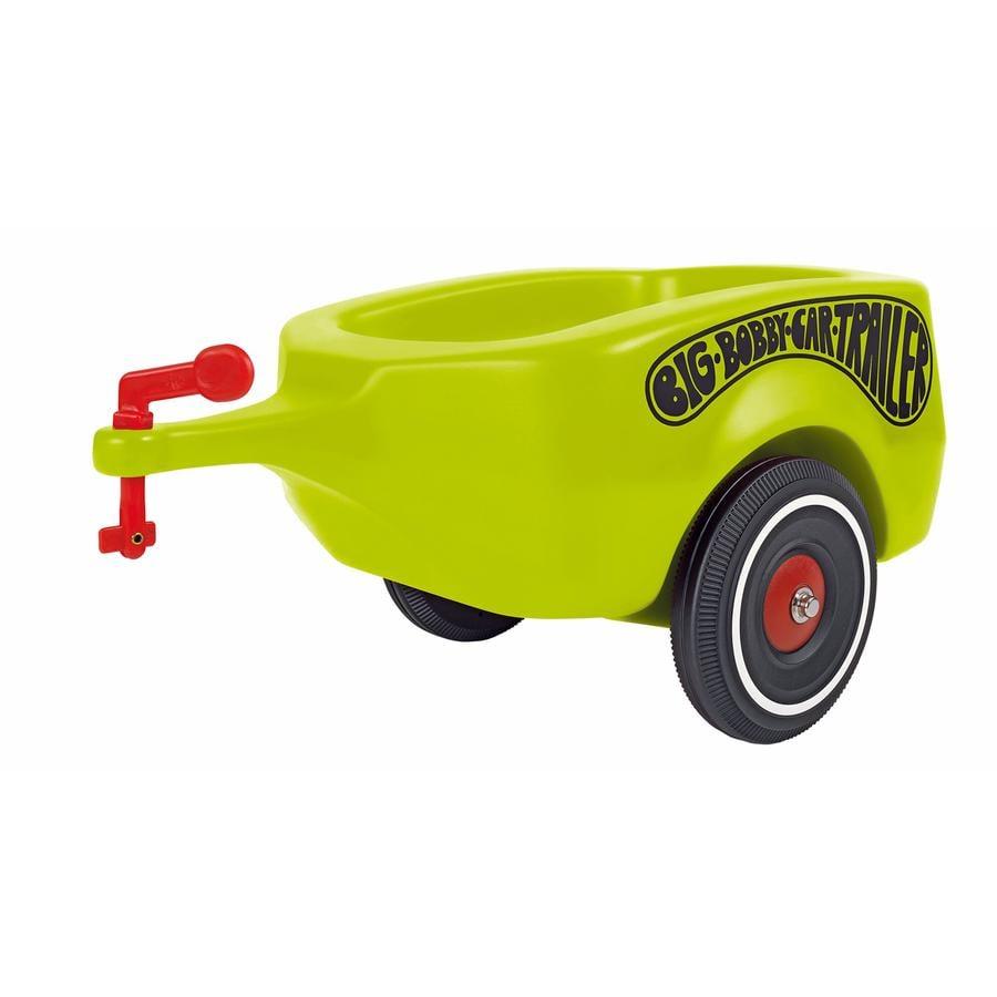 BIG Bobby Car Przyczepka kolor zielony Trailer Classic