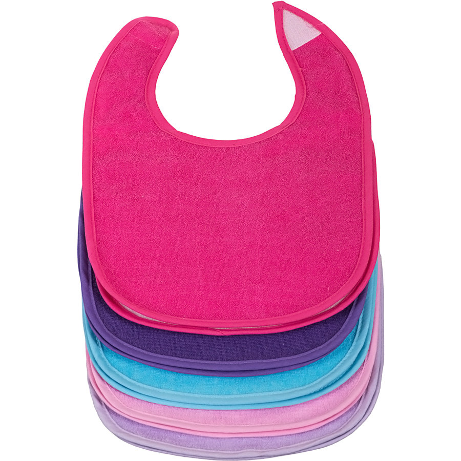 BIECO Bib with hook-and-loop fastener Girls, 10 pcs.