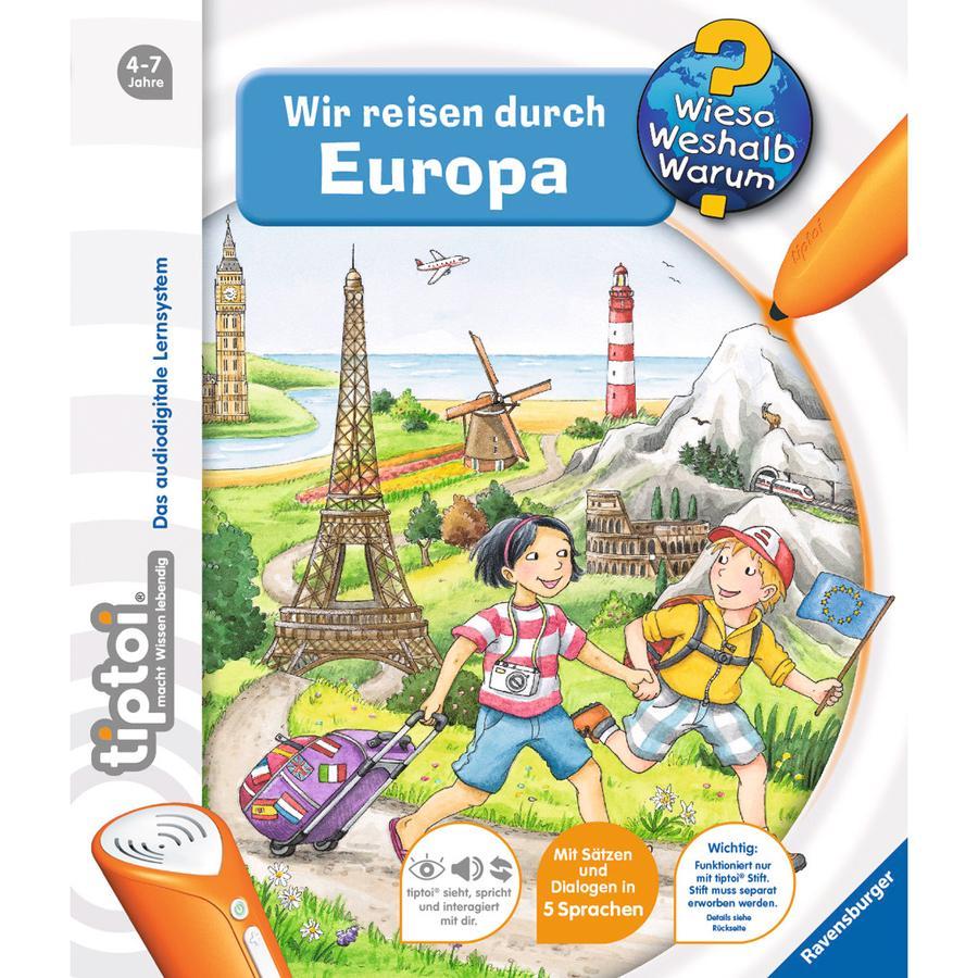 RAVENSBURGER tiptoi® - Wir reisen durch Europa