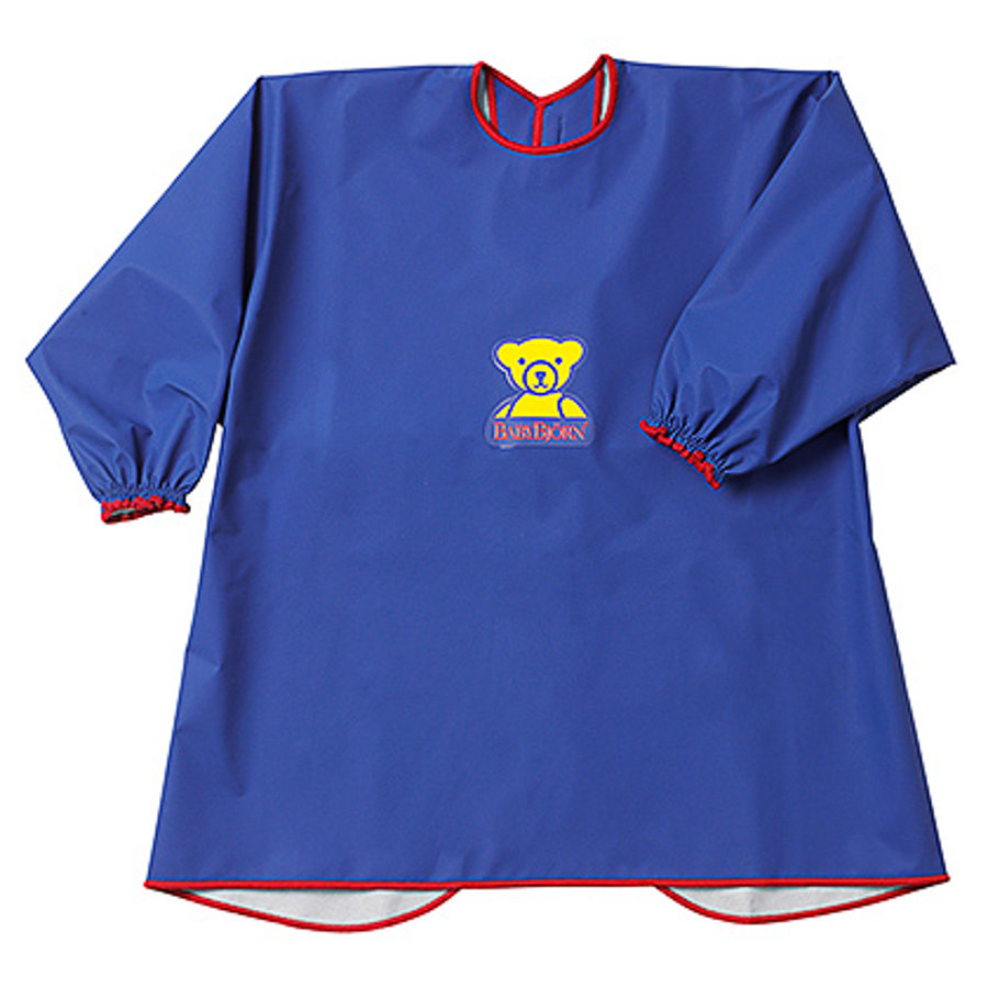 BABYBJÖRN Eat and Play Shirt Smock Blue