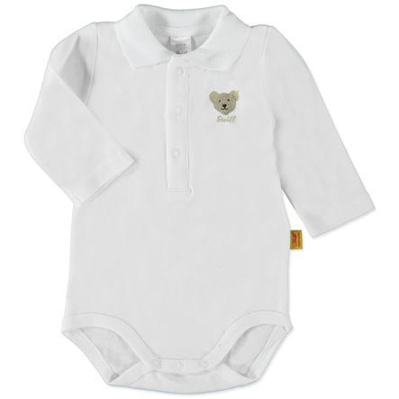 STEIFF Boys Baby Bodysuit 1/1 sleeve, bright white