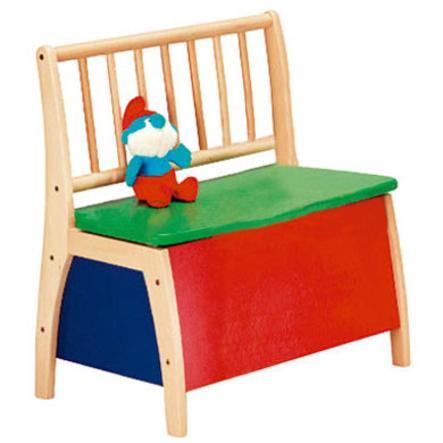 GEUTHER Banc-coffre à jouets Bambino 2520